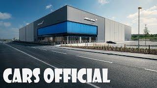 McLaren Super Factory: 100% hybrid by 2025