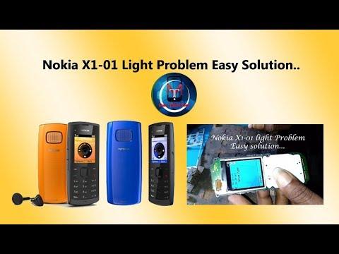 Nokia X1-01 Light Problem Easy Solution..