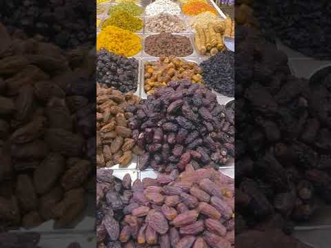 Dubai's Dry Fruits Market !!Dubai's Spice Souk #Shorts#YouTubeShorts