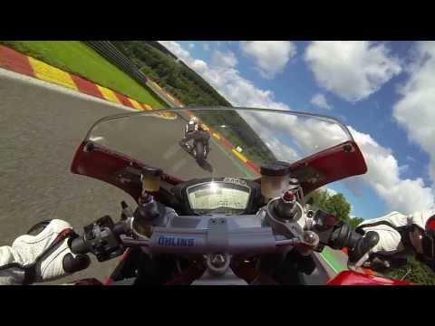 Onboard Ducati 848 Spa Francorchamps 16/09/2013