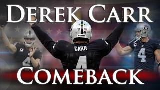 Derek Carr - Comeback