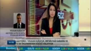 ALB Forex Altın ve Emtia Piyasaları Müdürü Volkan Kuğucuk piyasaları değerlendirdi. Bloomberg HT