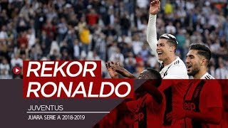 Rekor Cristiano Ronaldo Setelah Juventus Kembali Juara Serie A