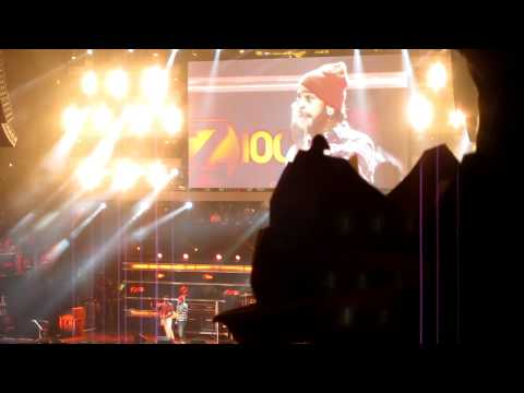 Gym Class Heroes feat Bruno Mars  Billionaire  @ Z100 Jingle Ball NYC MSG 120911