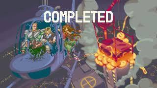 Elevator Action Returns Sega Saturn 2 player Netplay 60fps