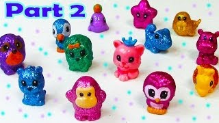 Squinkies Series 35 Glitter Fun Pets Opening Shopping Haul Part 2