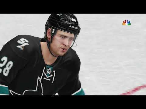 NHL 19: Kings v. Sharks Uncut Game With Alternate Jerseys