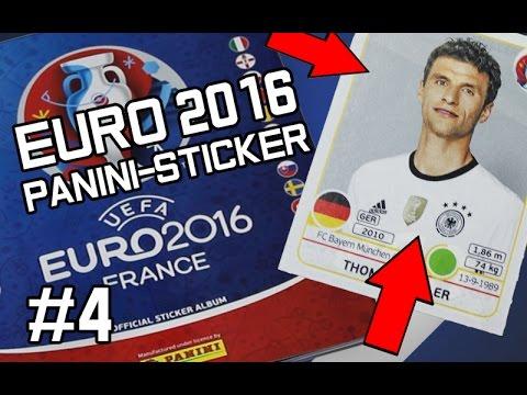 Der erste Deutsche...! | EURO 2016 - Panini Booster-Sticker Unboxing #4