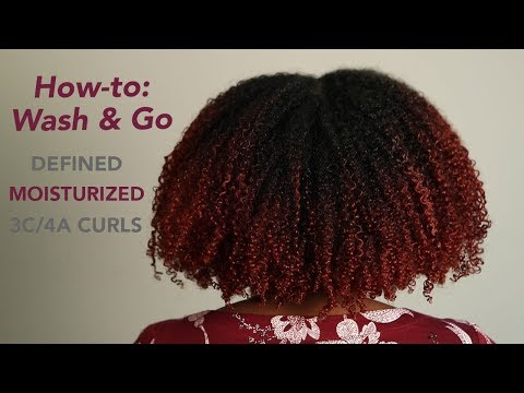 How-to: Wash and Go (Full Tutorial) thumbnail