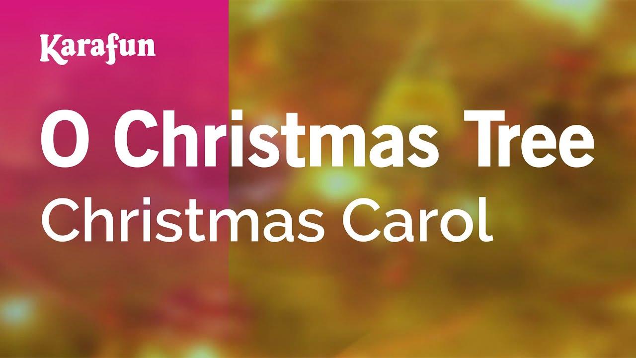Karaoke O Christmas Tree