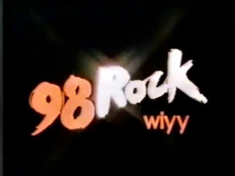 98 Rock (WIYY radio, Baltimore) ad from 1981