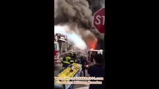 STATter911: Immediate aftermath of deadly Baltimore rowhouse explosion & fire