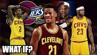 The Cleveland Cavaliers trading for JIMMY BUTLER? Could this NBA SUPER TEAM defeat The Warriors?