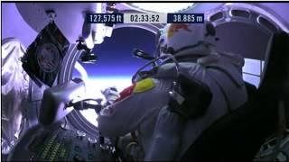 Astronauta saltando do espaço!