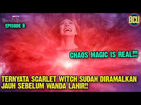 TERNYATA SCARLET WITCH SUDAH DIRAMALKAN JAUH SEBELUM WANDA LAHIR !! | WANDAVISION EPISODE 8
