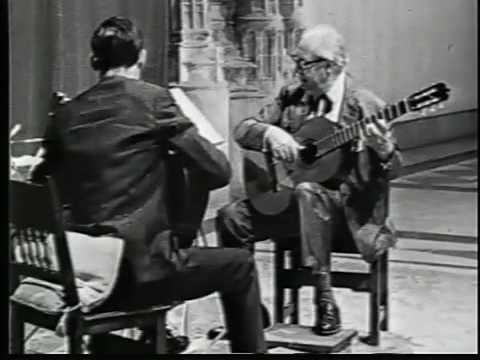 "Ray Reussner: Segovia 1965 Masterclass  Bach  Sarabande Bouree ""Sound of the Guitar""  Pt3"
