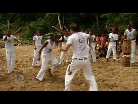 Projecto de Capoeira em São Tomé e Príncipe - CPLP