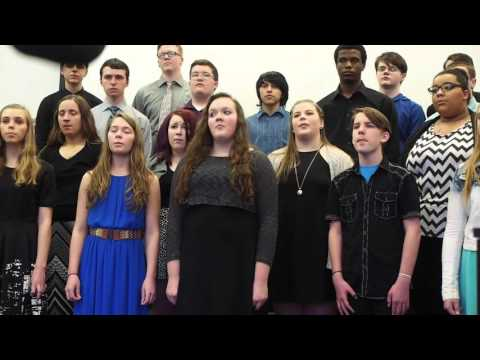 Charles City High School Choir, April 2, 2016