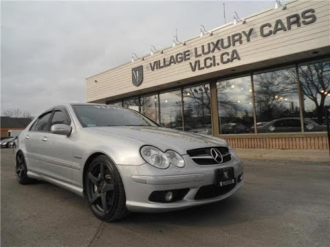 2005 Mercedes Benz C55 Amg In Review Village Luxury Cars Toronto You
