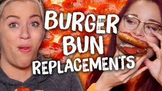 5 Delicious Burger Bun Replacements (Cheat Day)