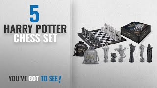 Top 10 Harry Potter Chess Set [2018]: Harry Potter Wizard Chess Set