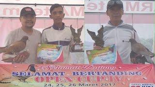 Lomba besar merpati kolongan,open cup 4,Kemiling Bandar Lampung
