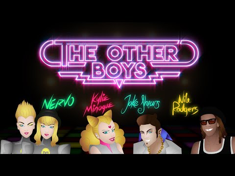 NERVO feat Kylie Minogue, Jake Shears & Nile Rodgers - The Other Boys Unofficial Lyric Video