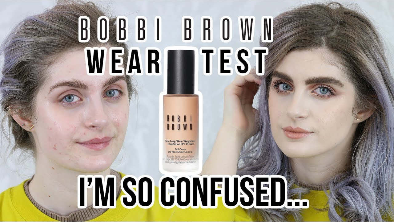 Skin Bobbi Foundation Test Wear Brown Weightless Long VGUjqzpMLS