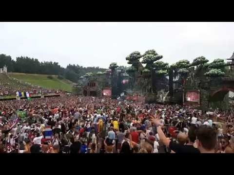 Tomorrowland 2016 The Chainsmokers  Roses Mashup Justin Bieber Mainstage