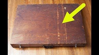 This Box Found In A Dumpster Contains A Key To Possible Alien Contact