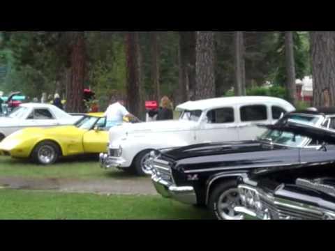 The Comancheros car show in Pinehurst Idaho with my 65 - YouTube