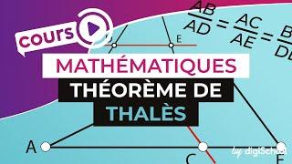 Cours de mathématiques : le théorème de Thalès