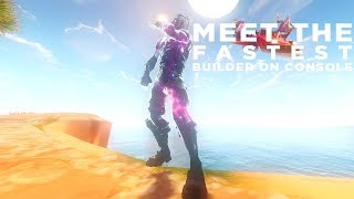 Meet The Fastest Console Builder...(Fortnite BR)