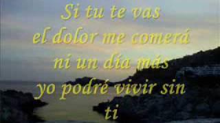 Enrique Iglesias si tu te vas LETRA **♥♥FE♥♥**