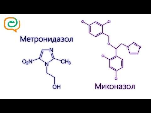 По-быстрому о лекарствах. Метронидазол и Миконазол