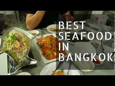 BEST SEAFOOD RESTAURANT in Bangkok Thailand!