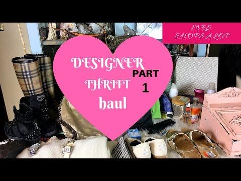 bb602b90e13e Designer Handbag Thrift Haul Burberry