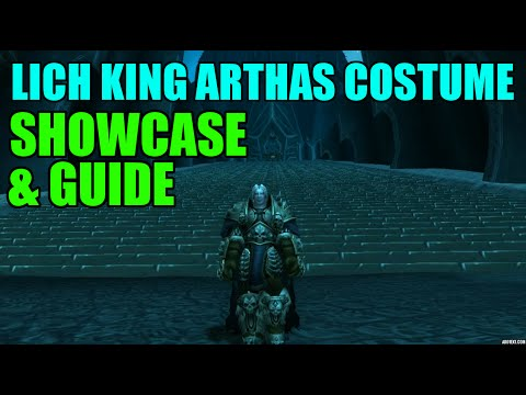 WoW Lich King Arthas Costume Showcase & Guide