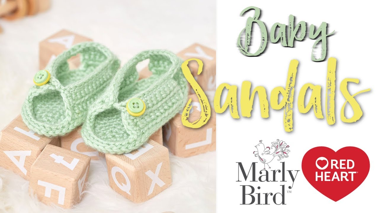 892489570 How to Crochet Baby Sandals for Girls and Boys - YouTube