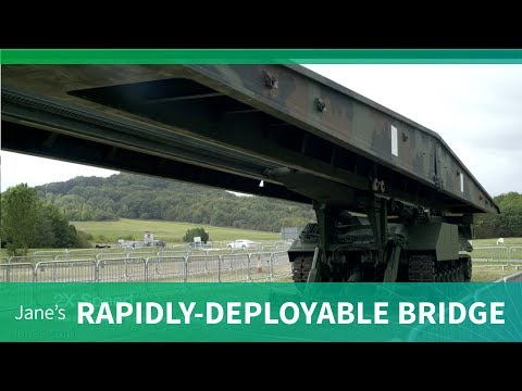 WFEL's rapidly deployable bridging range (DVD 2018)
