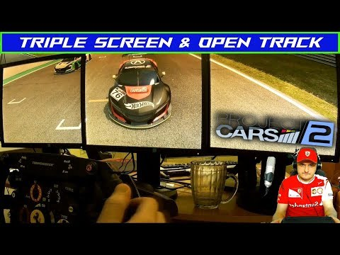 Project Cars 2 | Open Track (Track ir) & Triple Screen | ACURA MDX GT3 | Race