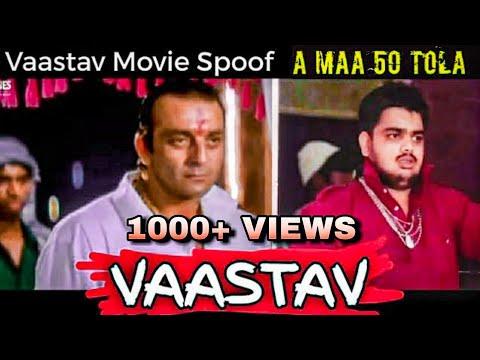 Vaastav Movie Spoof | 50 Tola Scene | Sanjay Dutt | Raghu Bhai | Unique Chhora