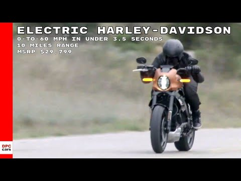 Electric Harley Davidson LiveWire Motorcycle