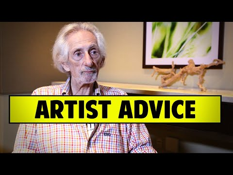 Advice To Other Artists, Don't Over Think It by Larry Hankin