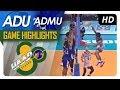 UAAP 80 MV: AdU vs. ADMU | Game Highlights | February 21, 2018