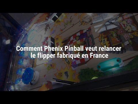 Un nouveau fabricant de flipper, Phénix Pinball, va relancer la production en France dès 2017