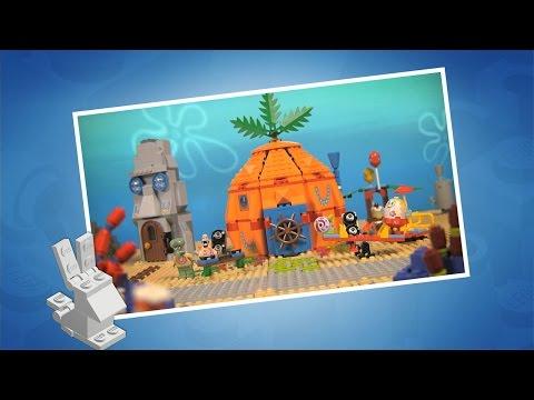SpongeBob SquarePants Theme Song - LEGO Club TV - Music Video