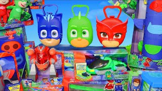 PJ Masks Cars Surprise Toys: Catboy, Gekko & Owlette Toy Vehicles Play for Kids