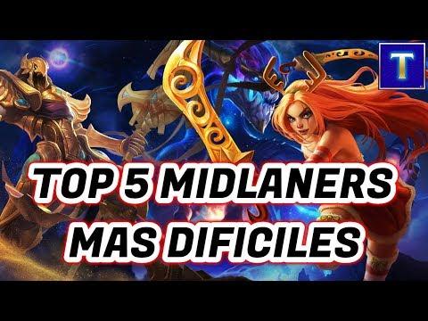 TOP 5 MID MAS DIFICILES DEL LEAGUE OF LEGENDS | TenYasha LOL thumbnail