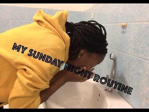 My Sunday Night Routine| South African Vlogger